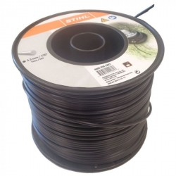 STIHL Nylon Trimmer Line Black 3.3mm x 142m