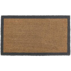 Hug Rug My Mat Coir Run With Border 50cm x 125cm