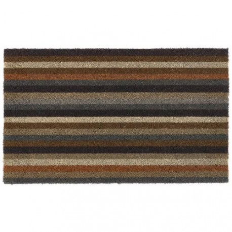Hug Rug My Mat Coir Earth Stripe 45cm x 75cm