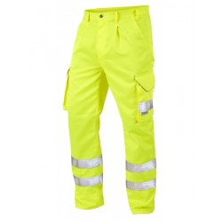 Hi-Visibility Cargo Trouser Yellow