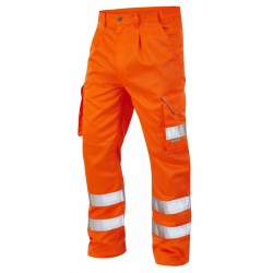 Rail Industry Hi-Vis Cargo Trouser Orange GO/RT3279