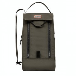 Hunter Original Short Boot Bag Dark Olive