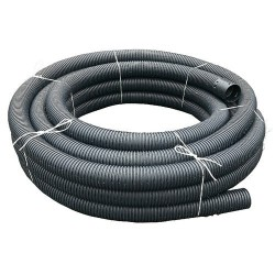 Land Drain 100mm x 50m Coil, Perforated