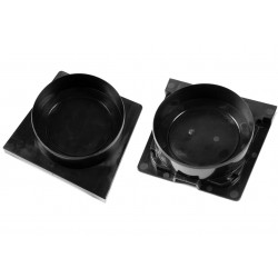 Polypropylene Floor Channel Outlet End Cap (Pair)