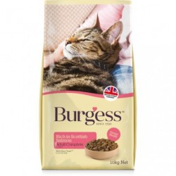 Burgess Adult Rich In Scottish Salmon Complete Cat Food 1.5Kg