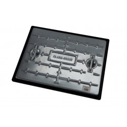 600 x 450mm Drain Cover, Galvanised Steel & Polypropylene
