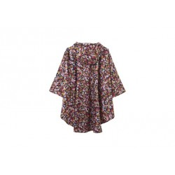 Joules Showerproof Poncho, Navy Floral