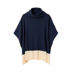 Joules Kari Knitted Poncho (One Size)