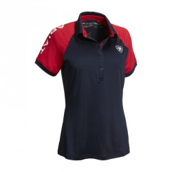 Ariat Navy Polo Shirt