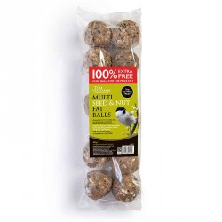 Multi Seed and Nut Fat Balls, 10 Pack - Tom Chambers