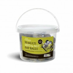 Multi Seed and Nut Fat Balls, Tub of 50 - Tom Chambers