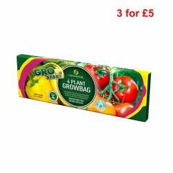 GROWMOOR 4 Plant Growbag 38L 3 For £5