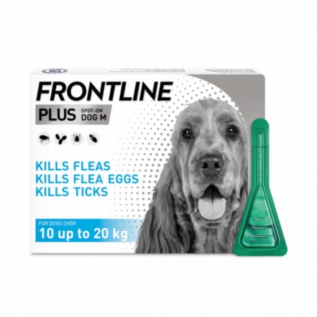 Frontline Plus Flea & Tick Spot On Dog 10-20 Kg