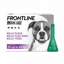 Frontline Plus Flea & Tick Spot On Dog 20-40Kg