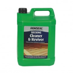Ronseal Decking Cleaner and Reviver, 5L