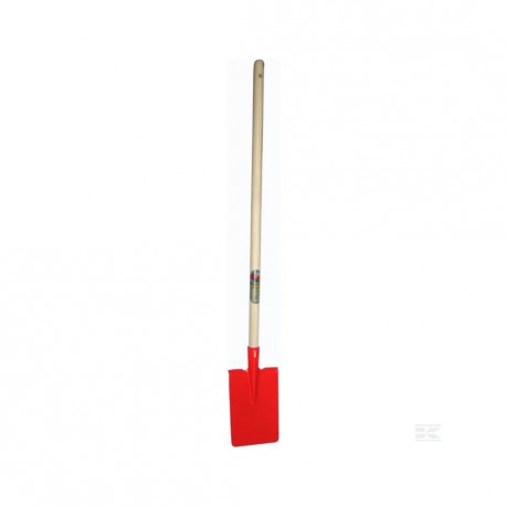 Children's Red Spade with Handle