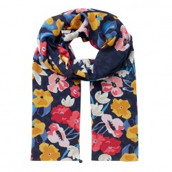 Joules Floral Conway Lightweight Scarf