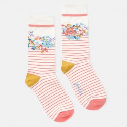 Joules Floral Brill Bamboo Socks, 1 Pack