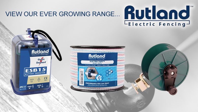 View our full range of Rutland Electric Fencing