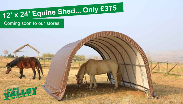Coming Soon! - Equine Shed