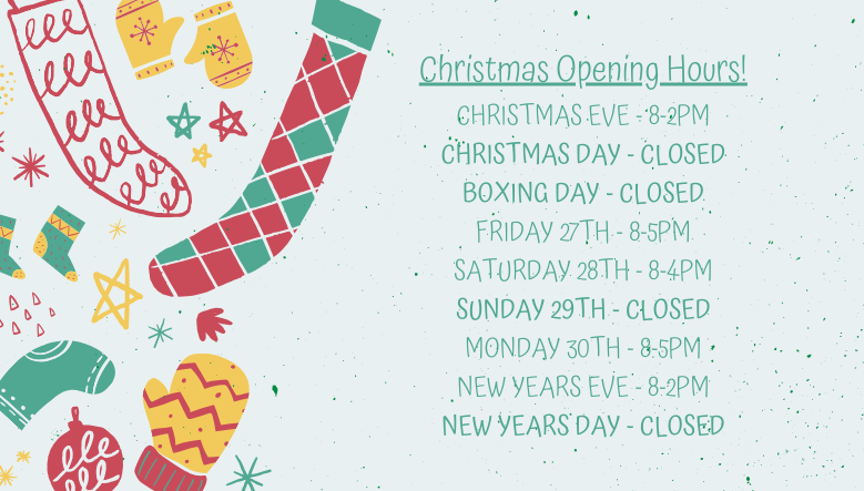 Torne Valley Christmas Opening Hours 2019