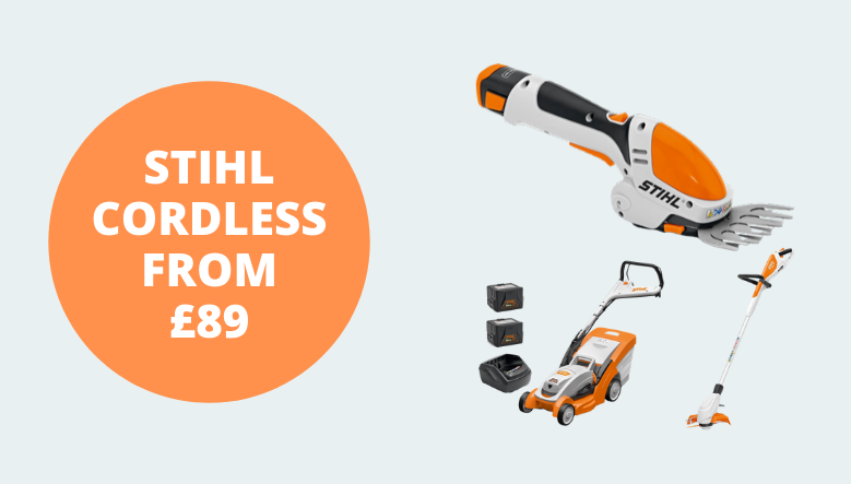 Fanatstic Lithium-Ion STIHL Products from £89