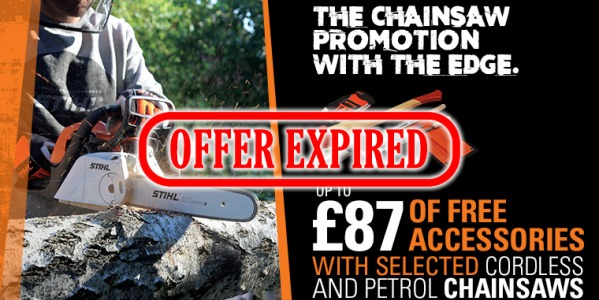 The STIHL Chainsaw Promotion