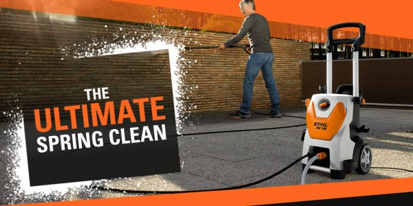 Spring Clean with Powerful STIHL Pressure Washers!