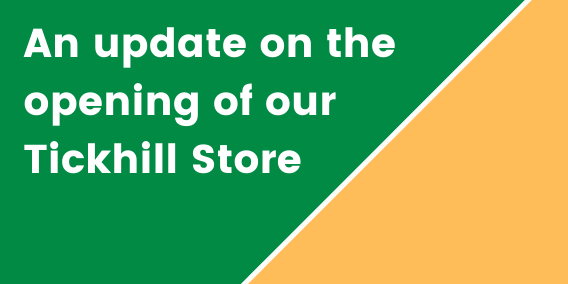 COVID-19 UPDATE: Opening Our Stores...