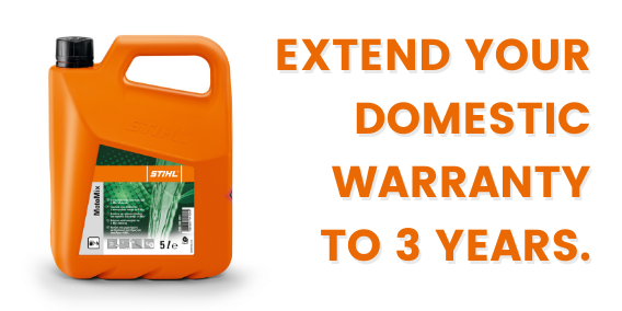 3 Year Warranty With Purchase of 5 litres of STIHL MotoMix Fuel
